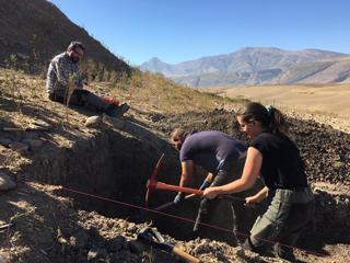 Follow Tim Kerig's excavations in Kurdistan