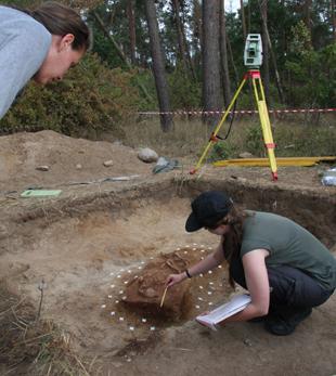 Ausgrabung Uckermark